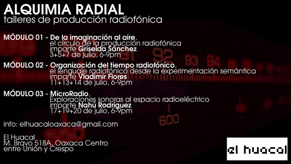 ALQUIMIA RADIAL