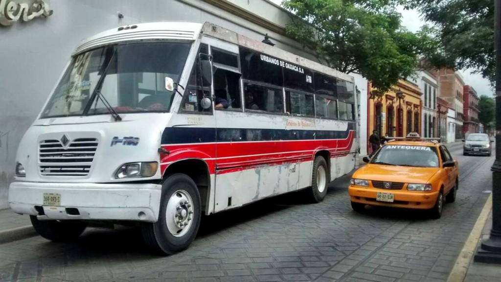 Transporte Oaxaca