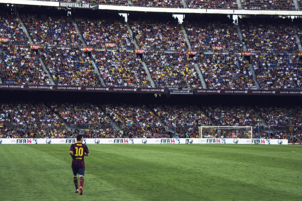 Messi - Estadio