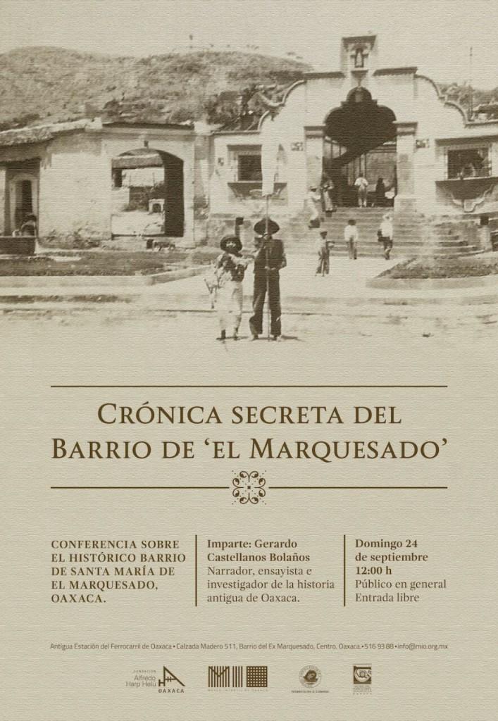 CRÓNICA SECRETA DEL BARRIO DE EL MARQUESADO