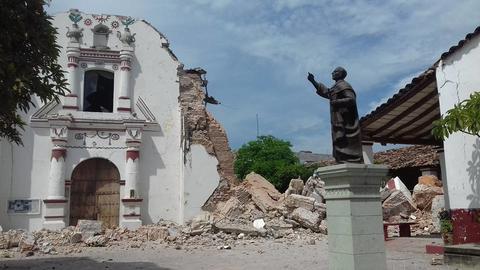 Templo san vicente ferrer juchitan vía telemundo.com