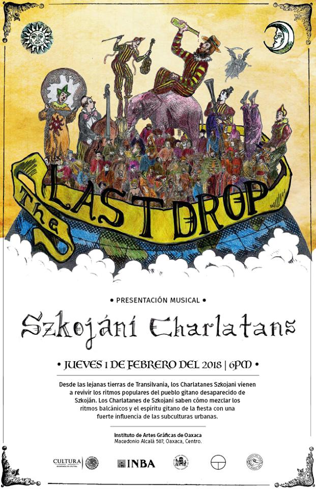 Presentación musical de Szkojáni Charlatans