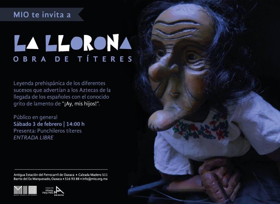 """Obra de Títeres """"La Llorona"""""""