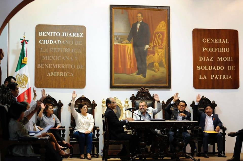 Cabildo de Oaxaca @ José Antonio Hernández Fraguas 25 ene 2018
