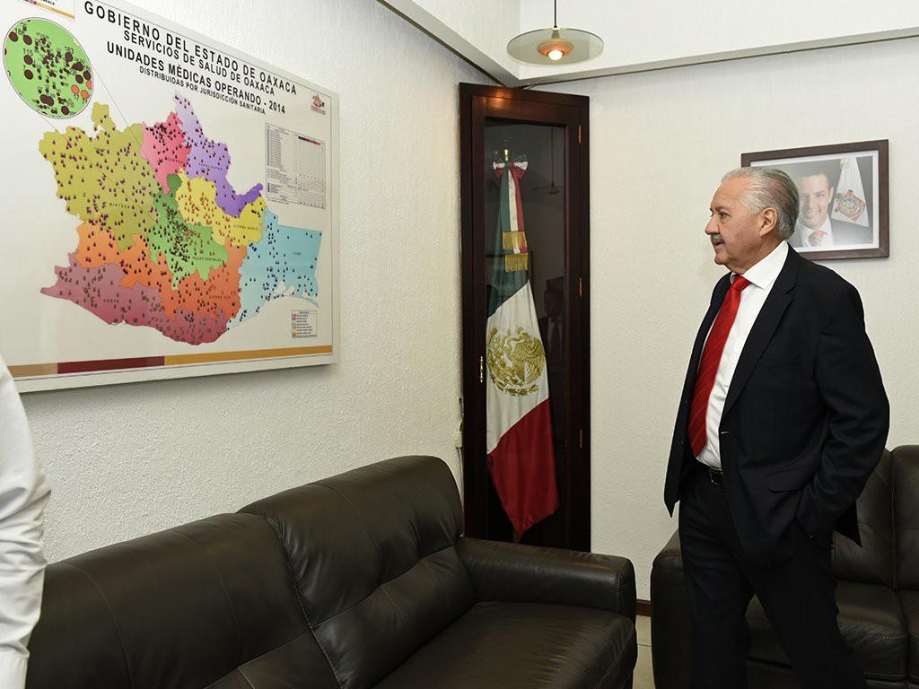 Juan Díaz Pimentel Imagen- @SSO_GobOax