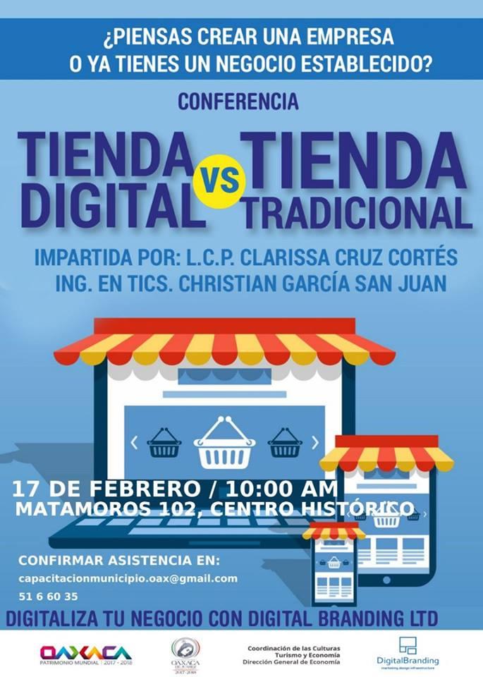 Conferencia tienda digital vs tradicional